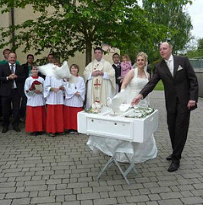 Hochzeitstaubenservice Christian Wilhelm