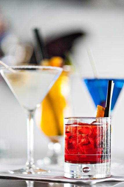 Beispiel: Cocktails, Foto: Hotel Chlosterhof.