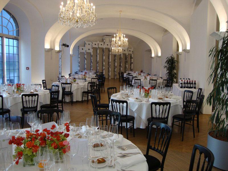 Beispiel: Festsaal, Foto: Schloss Schönbrunn.
