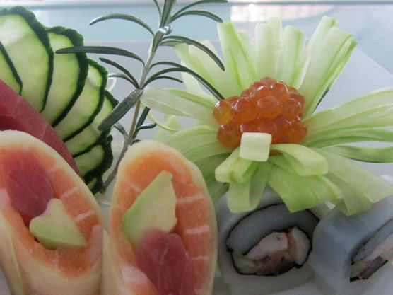 Coral a Sushi Concept