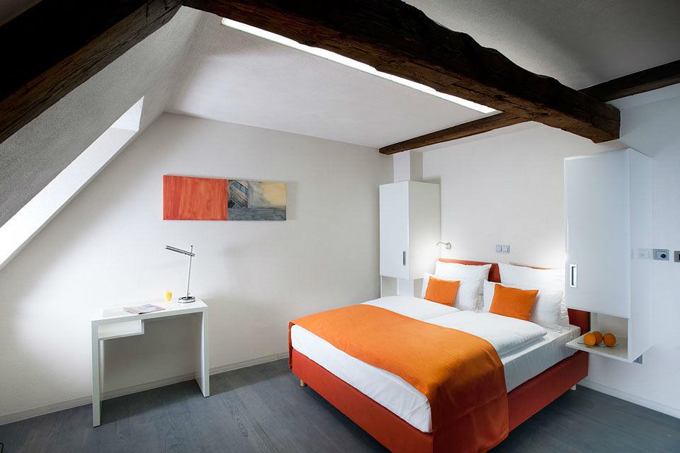 Beispiel: Impression Hotelzimmer, Foto: Hotel Freihof.