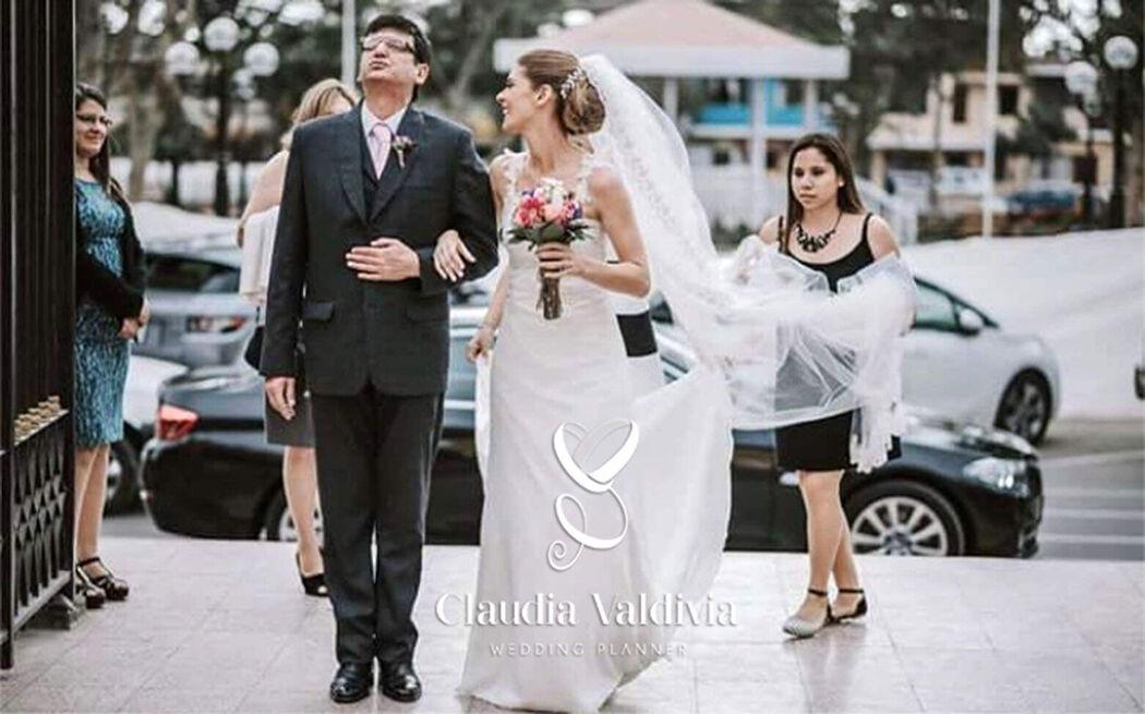 Claudia Valdivia Wedding Day