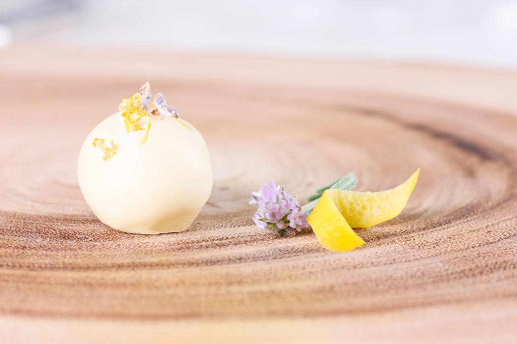 Trufa de Limão Siciliano & Lavanda: delicada e refrescante!