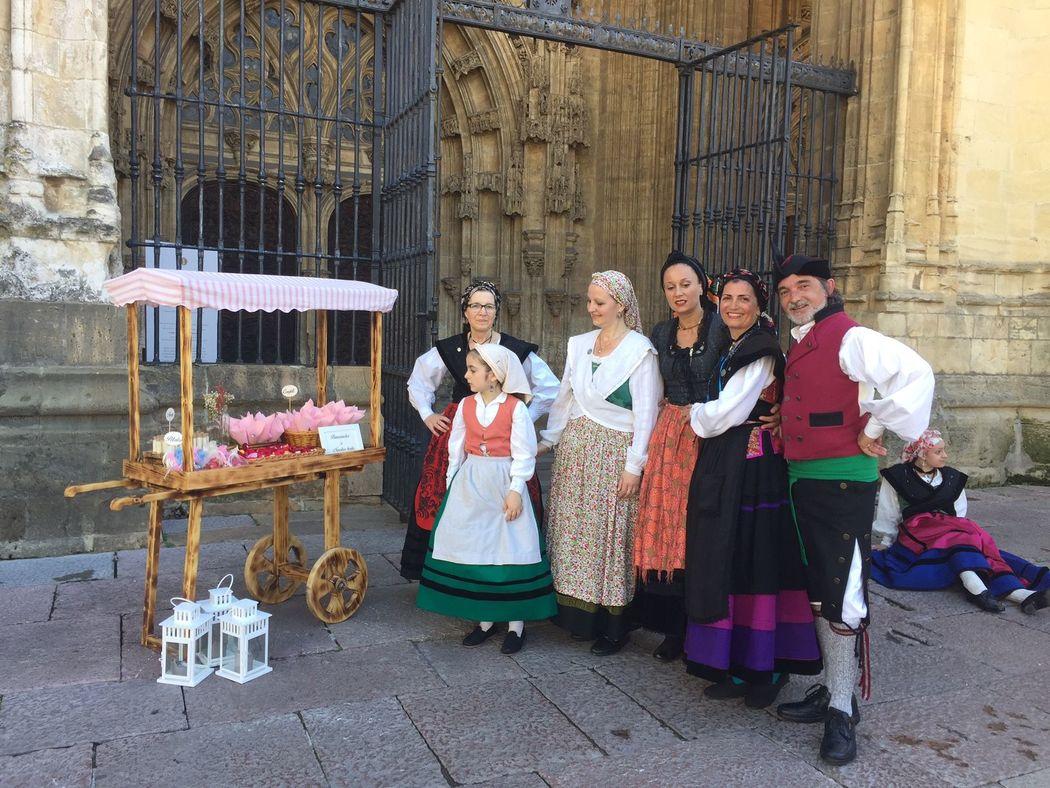 carrito de Ceremonia RetroCaravan El Botón Rosa