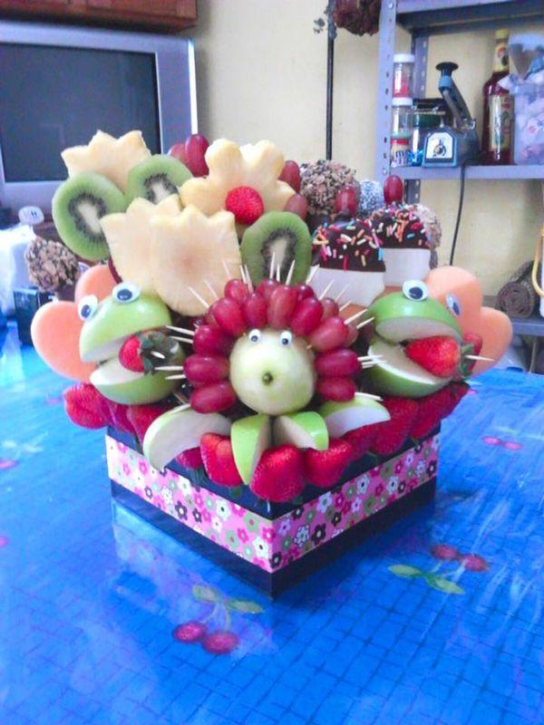 canastas frutales