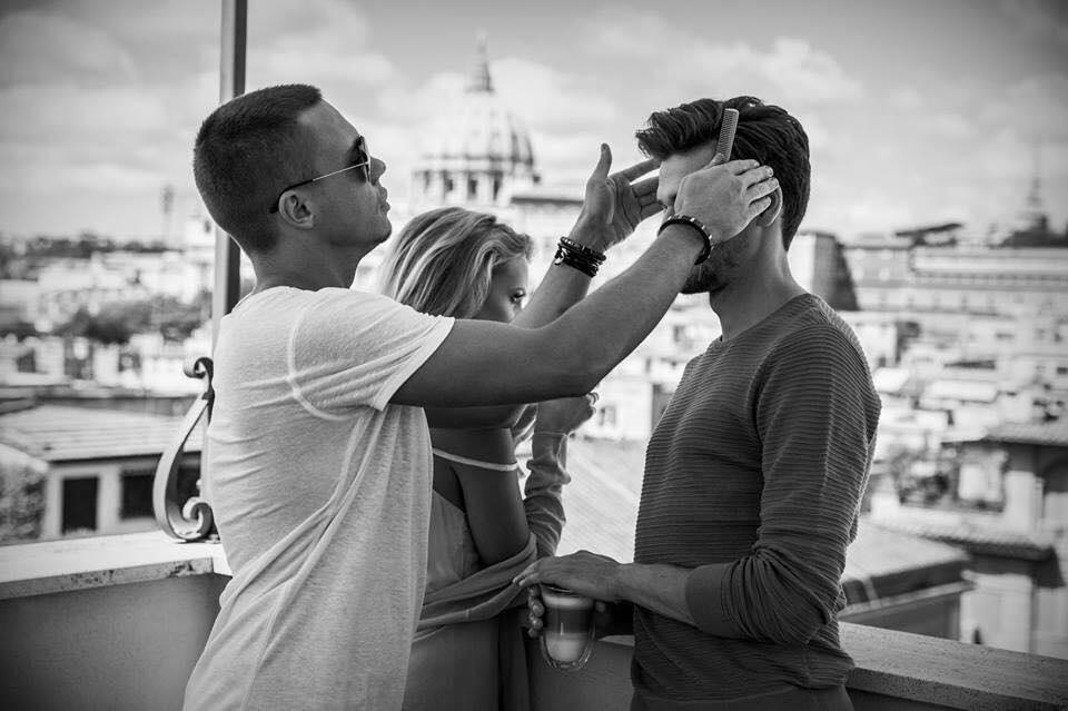 Piotr Postek - hair stylist