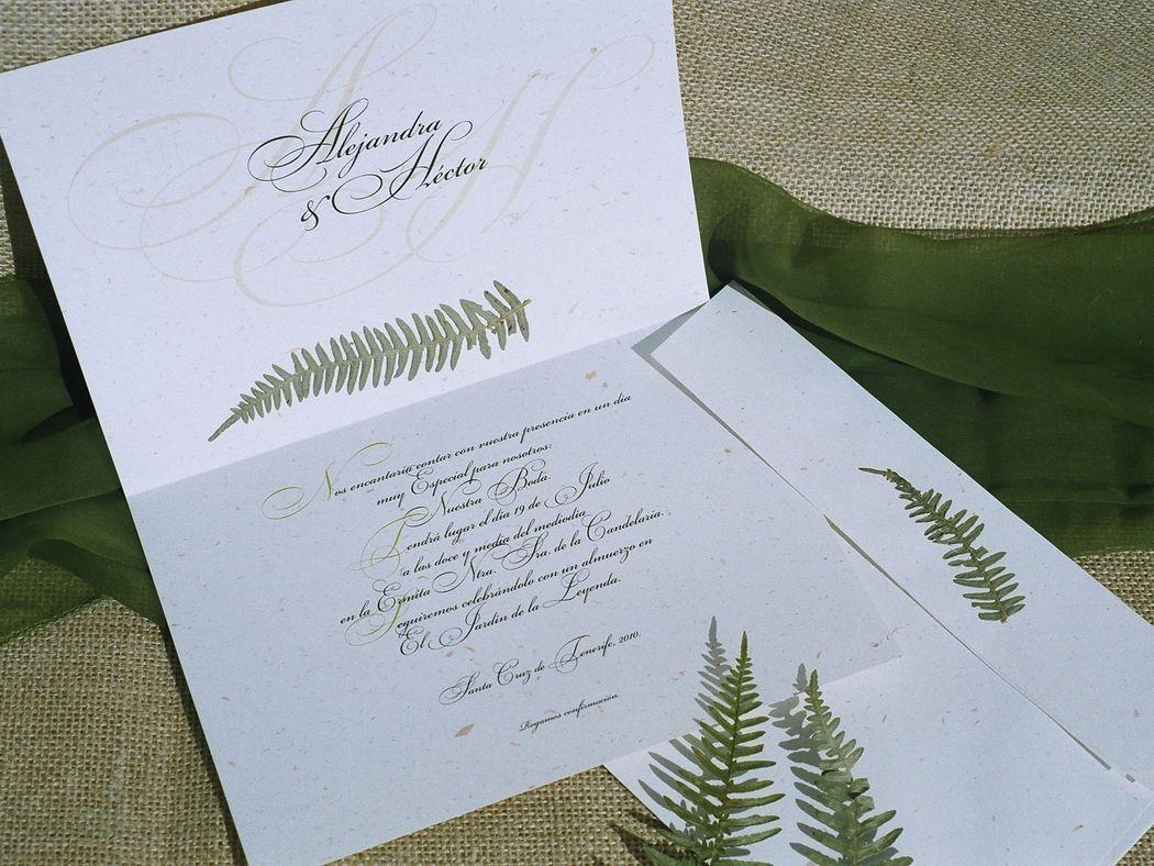Anastasia y Sebastien - Invitaciones