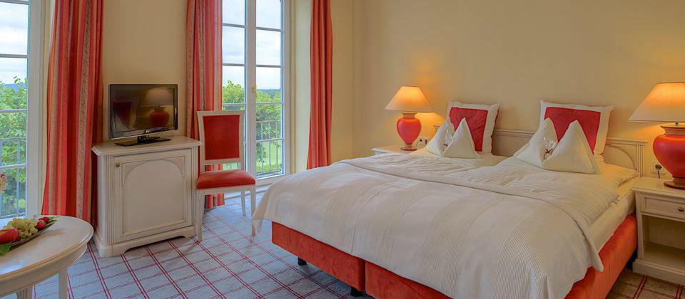 Beispiel: Hotelzimmer für die Gäste, Foto: Berghotel Tulbingerkogel.