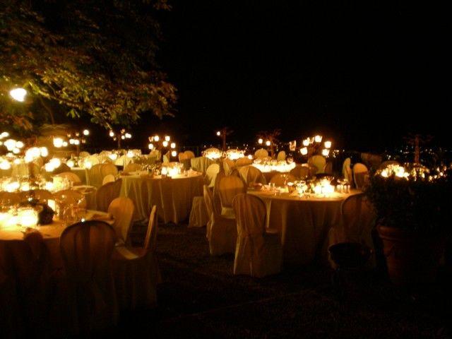 Villa Nessi di notte