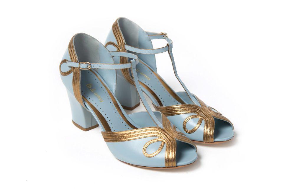 Sapato Louise Azul