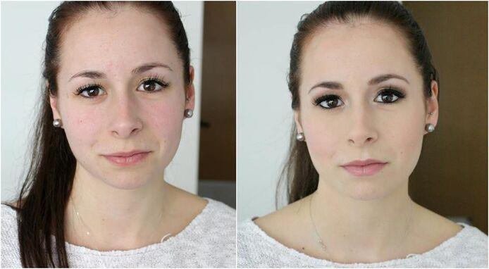 Antes e Depois Noiva