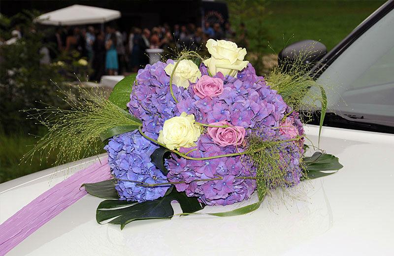 Beispiel: Hochzeitsdekoration, Foto: myflower.