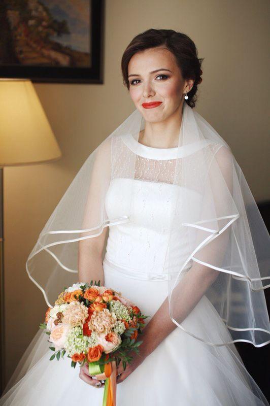 Свадебный образ, макияж и прическа