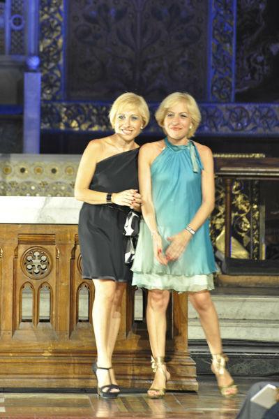Le stiliste Antonella e Mariella Donato