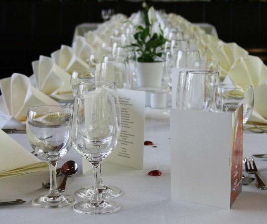 Hochzeitsdekoration, Foto: Bistro Mirabell
