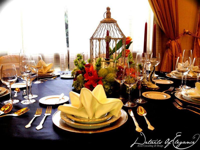 Organización de bodas, wedding planner y montajes con detalles elegantes - Foto Details of Elegance
