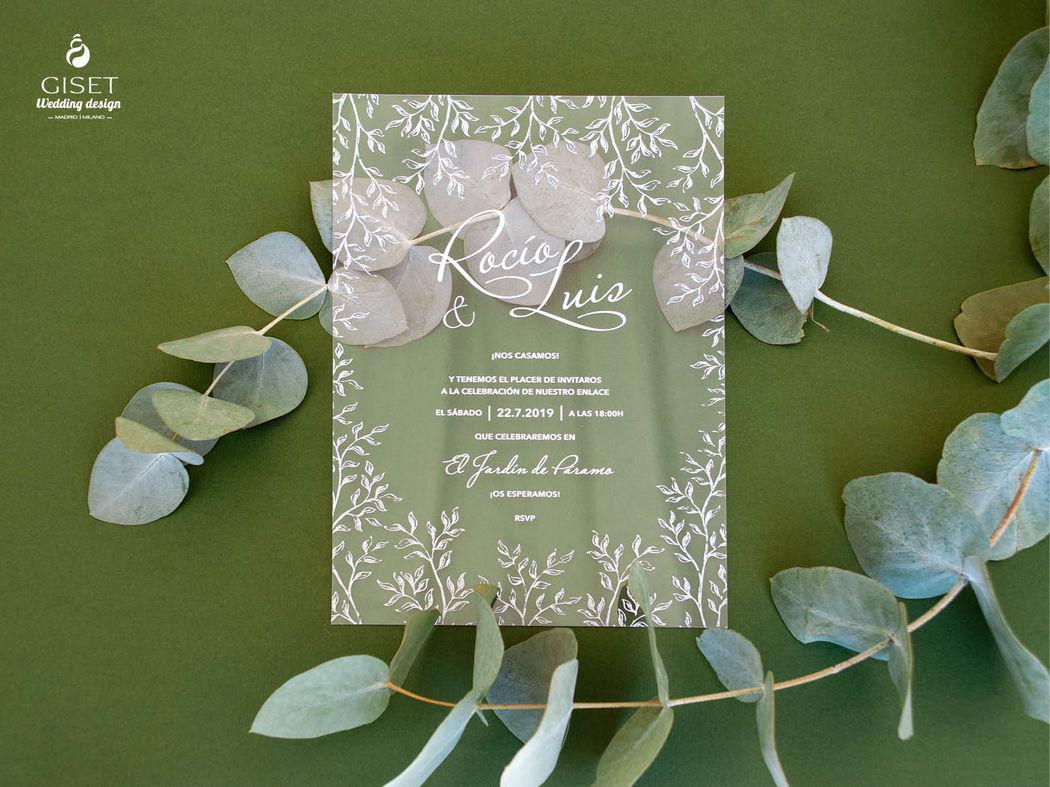 Giset Wedding - Papelería para bodas