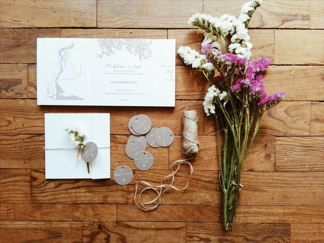 Convite Casamento M&L