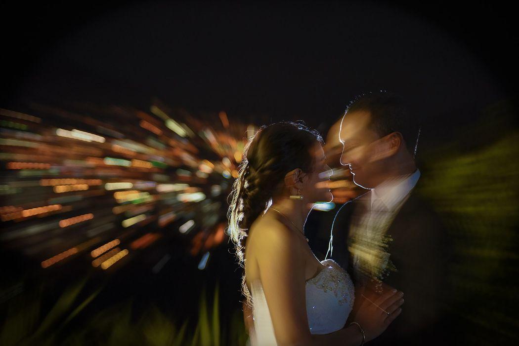 fotografos medellin bodas en la noche