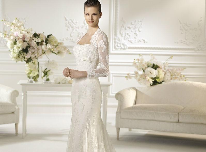 Beispiel: Brautmode mit Top-Marken, Foto: Eliyzi Couture Berlin.