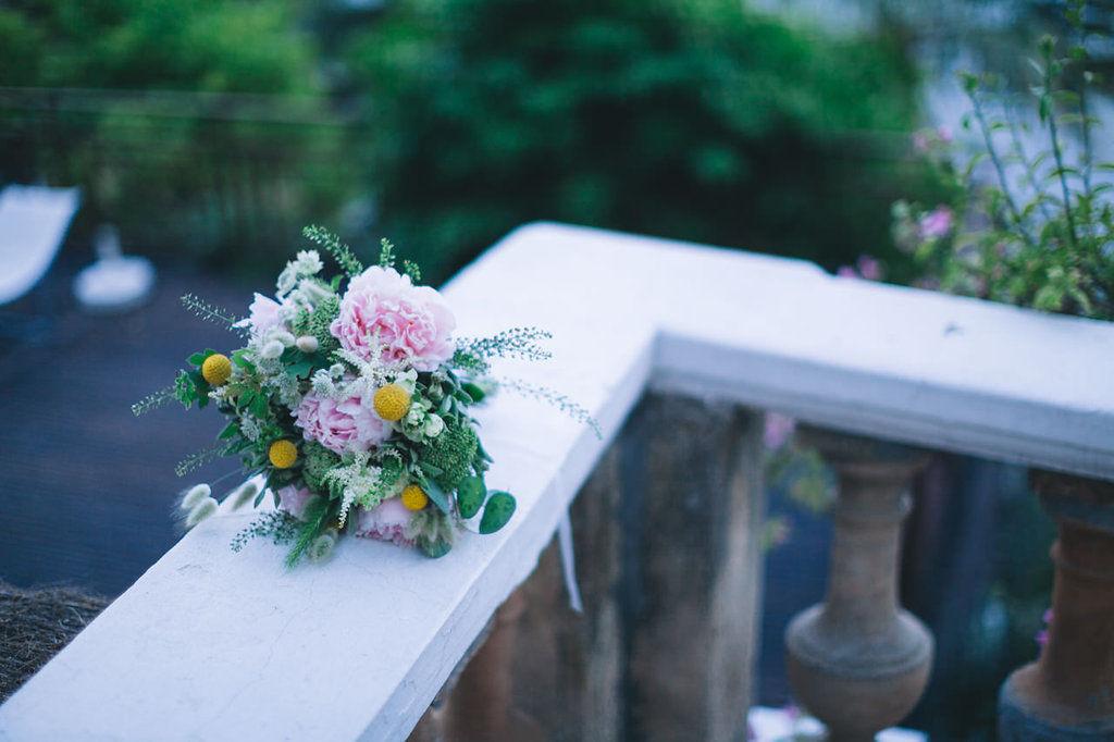 Bouquet de mariée.   Création florale Les Fées Nature