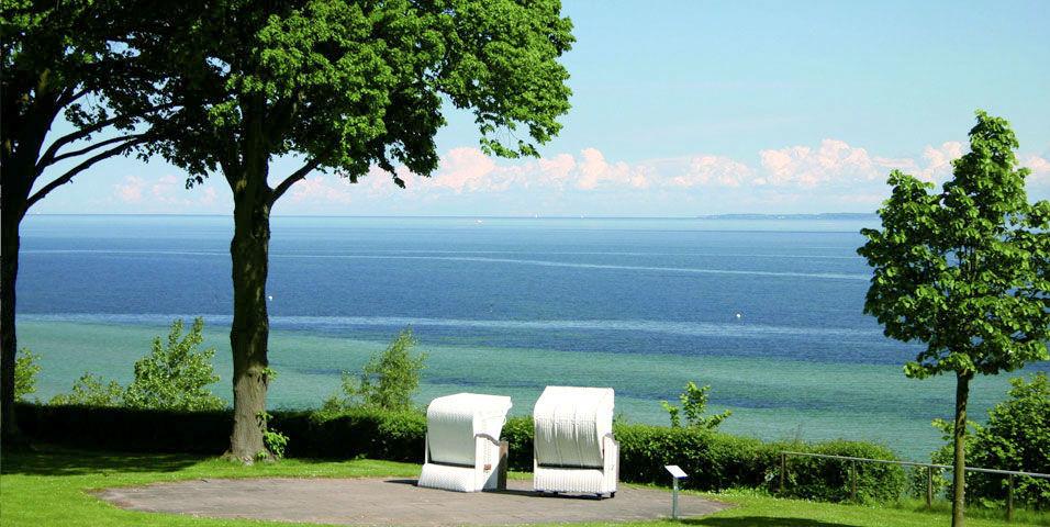 Beispiel: Ausblick auf den See, Foto: Hotel Seehof Sierksdorf.