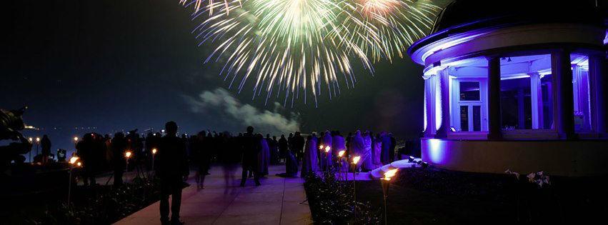Beispiel: Feuerwerk, Foto: Park Hotel Vitznau.