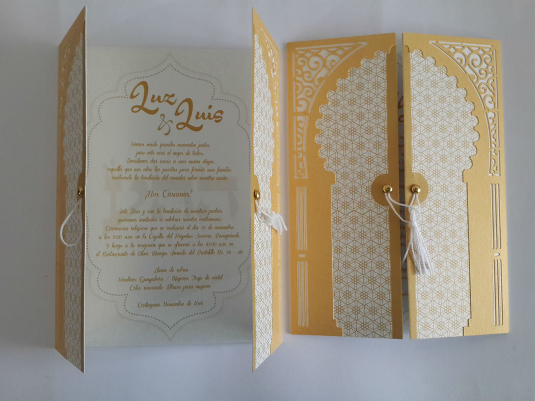 Invitación Arabe