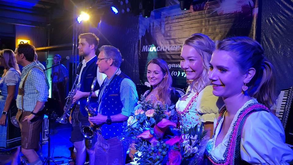 Oktoberfestband Münchner Gaudiblosn