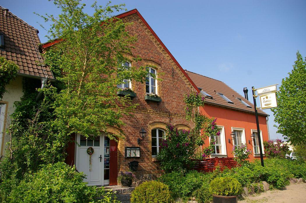 Eingang Landhaus