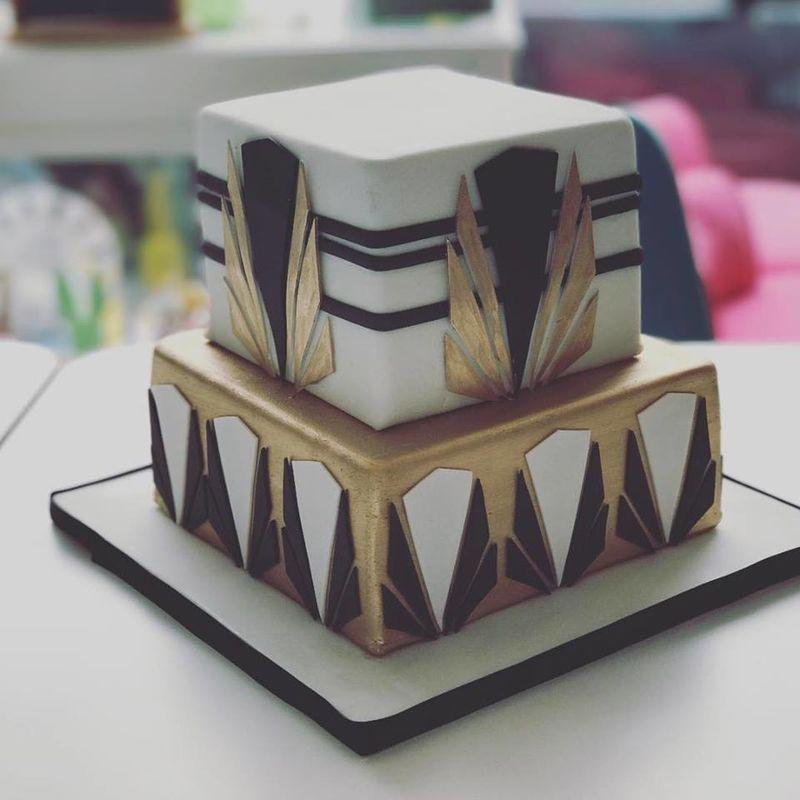 Wedding Cake Thématique - Années 20
