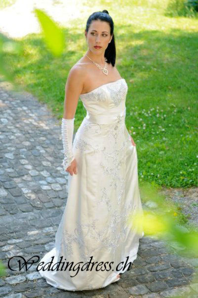 Beispiel: Ihr Traumkleid, Foto: Weddingdress.ch.