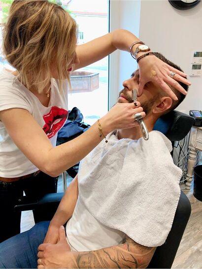 Le salon barbier