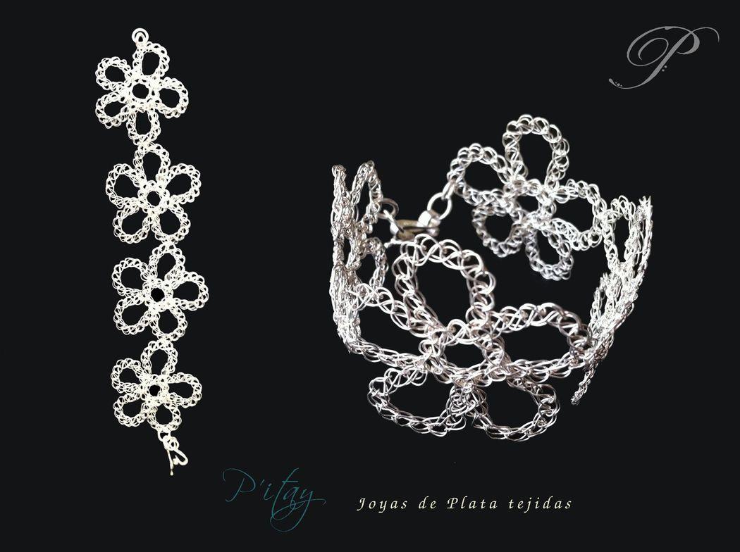 Pitay tiaras y joyas de plata