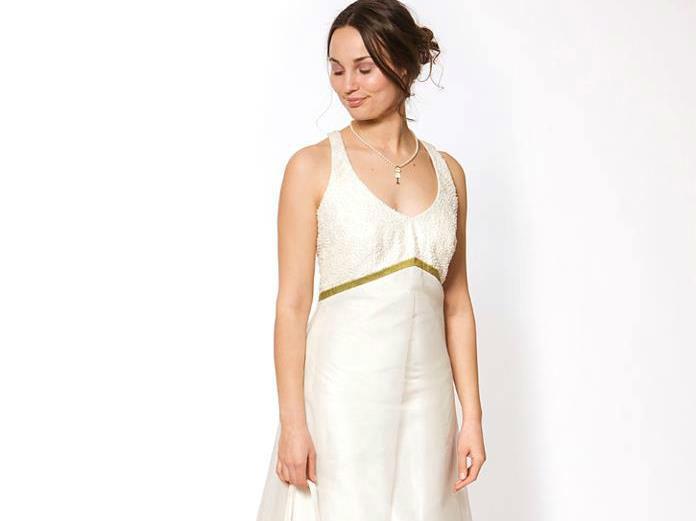 Beispiel: Hochzeitskleid Calla, Foto: JAAP Brautmode.