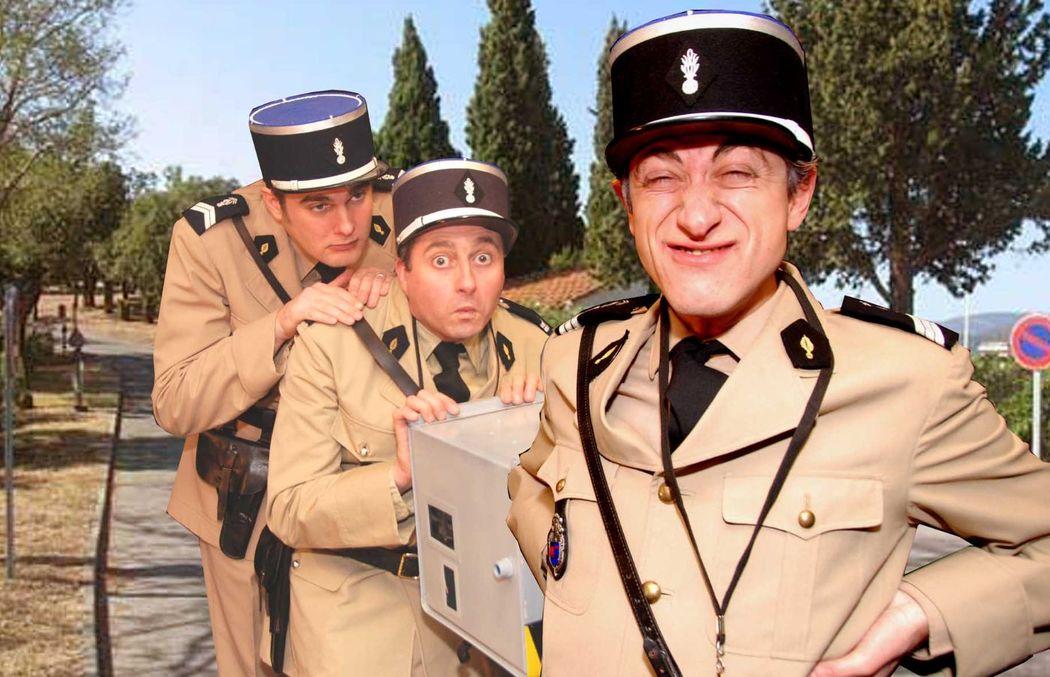 Le Maréchal des logis chef Cruchot  et Les Gendarmes de Saint-Tropez