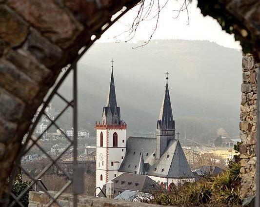 Beispiel: Ausblick von der Burg, Foto: Burg Klopp.