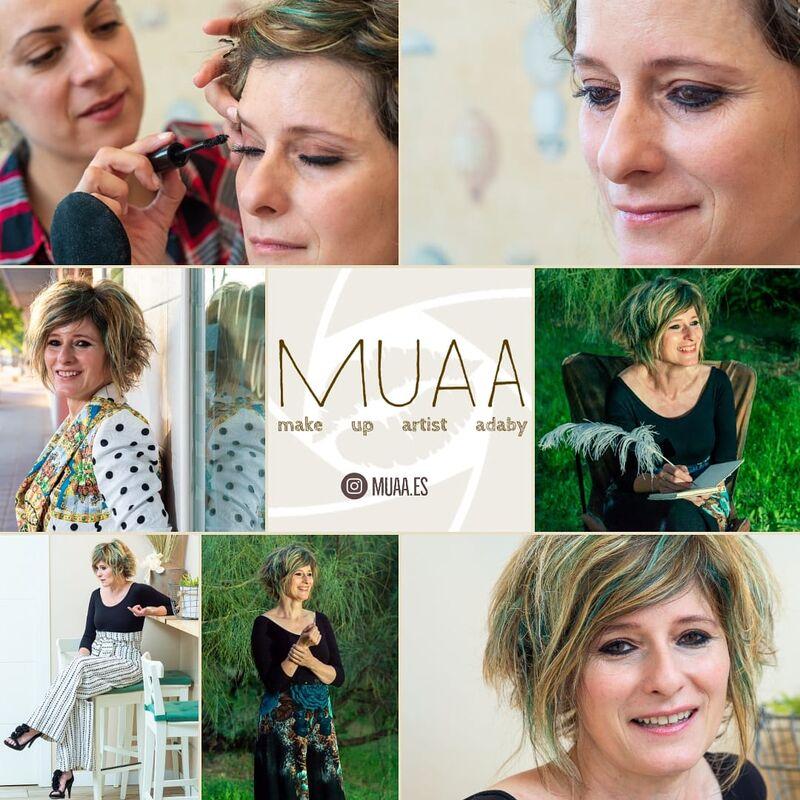 "MuaA ""makeUp Artist Adaby"" maquillaje y fotografia profesional"