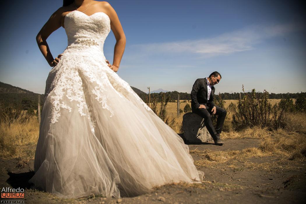 Trash The Dress  Cerca del Volcanb Popo