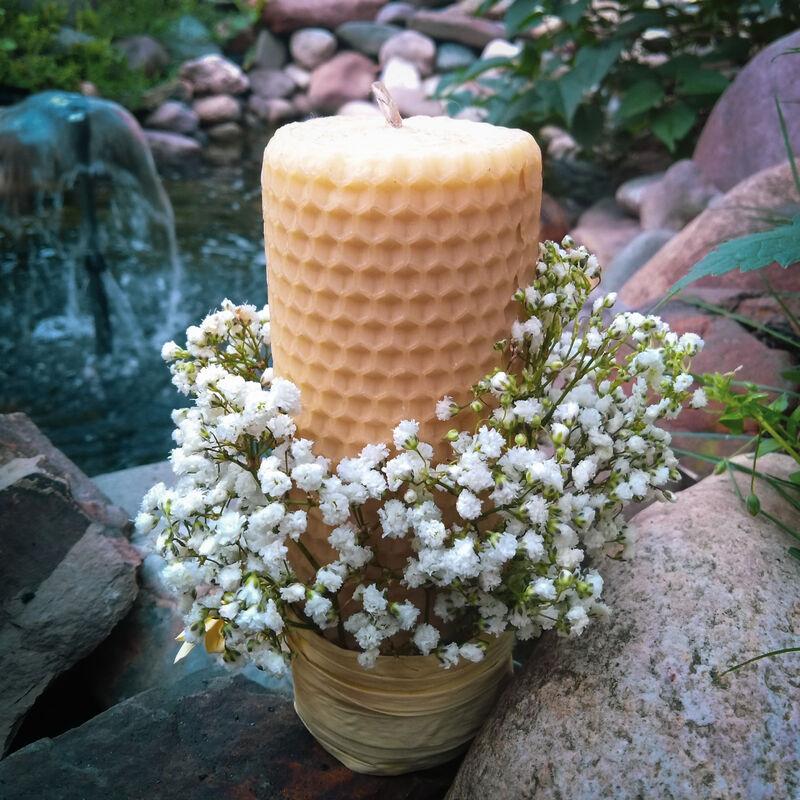 Свечи из натурального воска Hygge Brand