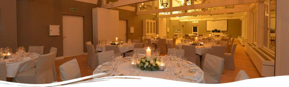 Beispiel: Bankettraum, Foto: Restaurant Schifflände.