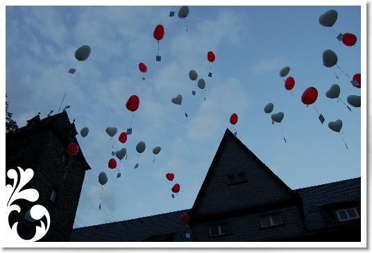 Beispiel: Luftballons, Foto: Schlosshotel Friedewald.