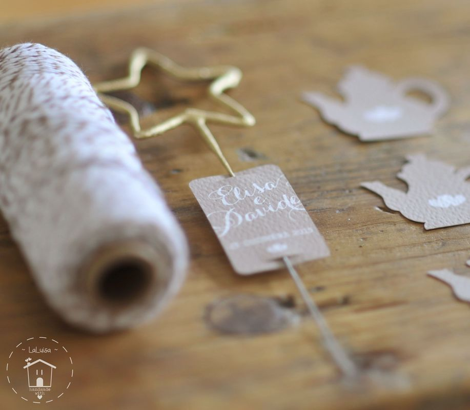 Dettagli luminosi di un Tea & Christmas wedding