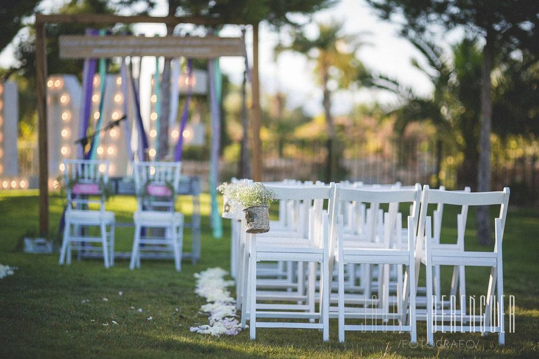 Ceremonia We Eventos boda Al&Far