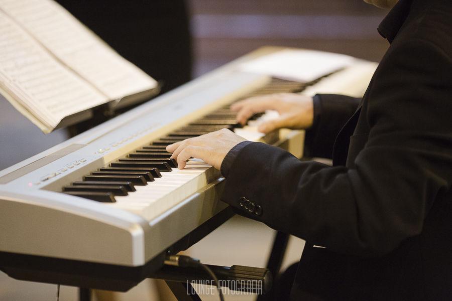 Piano - instrumento principal de acompanhamento
