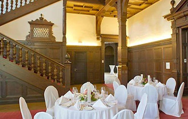 Beispiel: Hochzeitsbankett, Foto: Villa Manskopf.