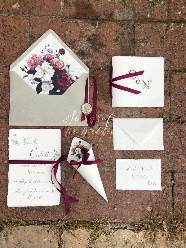 Serigrafic for Wedding