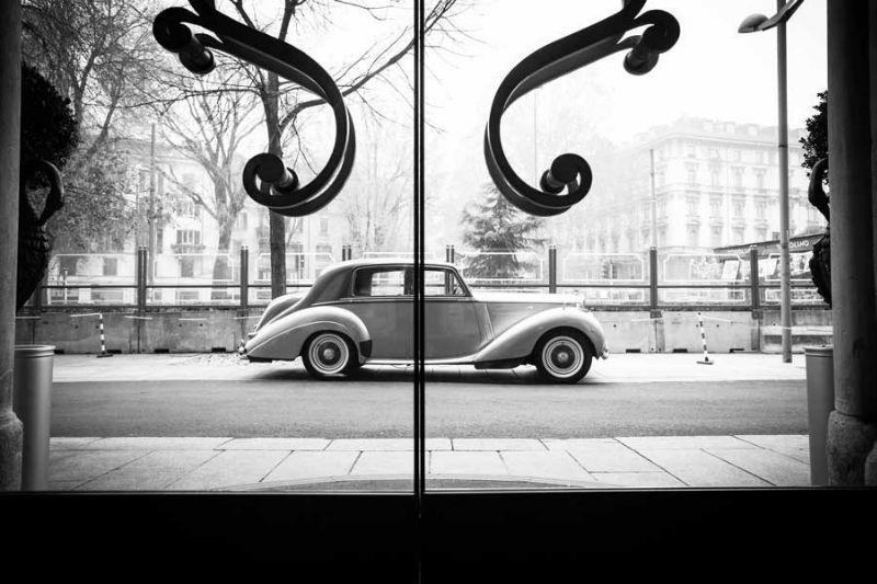 Bentley R-Type bicolore grigio