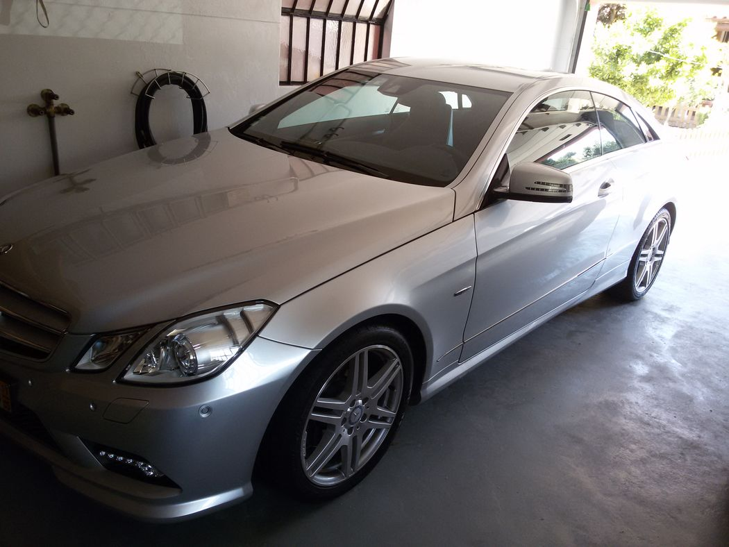 Mercedes coupe AMG