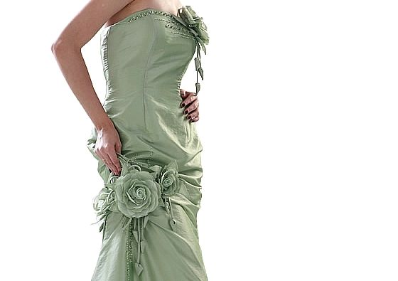 Beispiel: Abendkleid Colors 06, Foto: Loreley - Dresses for the Moment.